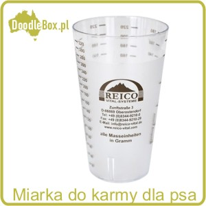 Reico - Measuring cup for dog food